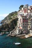 Italy. Cinque Terre. Riomaggiore village Royalty Free Stock Image