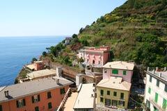 Italy. Cinque Terre. Riomaggiore village Stock Image