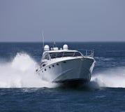 Italy, Circeo Bay (Rome), luxury yacht Royalty Free Stock Photos