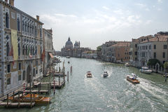 Italy. City landscape. Wide channels of Venice Stock Photos