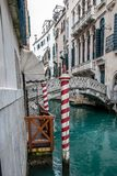 Italy.City of Venice. Italy. The city of Venice one day of February of the year 2011 royalty free stock photography