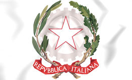 Italy Coat of Arms. Stock Photography