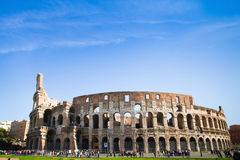 Italy, Coliseum in summer day Royalty Free Stock Photography