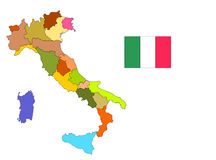 Italy, color Stock Photography