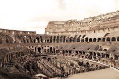 Italy. Colosseum, Rome, Italy - November 2016: the heart of Colosseum Royalty Free Stock Image