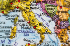 Italy country map . Royalty Free Stock Images
