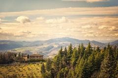 Italy countryside landscape Stock Photography