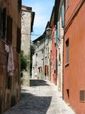 Italy cramped alleyway Stock Image