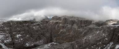 Italy, Dolomites, Sass Pordoi Royalty Free Stock Photo