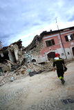 Italy earthquake Royalty Free Stock Images