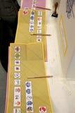 Italy elections ballots. Italy livorno,  elections ballots, voting, polla Royalty Free Stock Photography