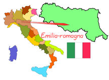 Italy, Emilia-Romagna Royalty Free Stock Photo