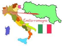 Italy, Emilia-Romagna Royalty Free Stock Photo