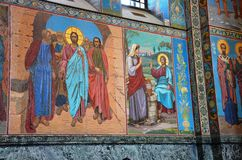 Italy exquisite icons from the Cathedral Stock Photos