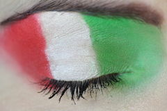 Italy eye makeup Royalty Free Stock Images