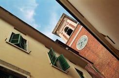 italy fönster Arkivfoton