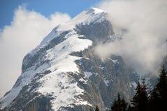 italy för 2007 alpsdolomites vinter Royaltyfri Fotografi