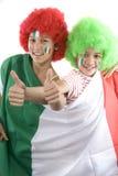 Italy fans stock photo