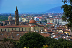 Italy. Firenze Houses travelling Village royalty free stock photo