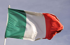 Italy flag Stock Photo
