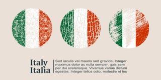 Italy flag design concept Stock Photo
