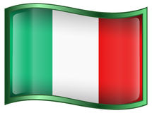 Italy Flag icon Royalty Free Stock Photos