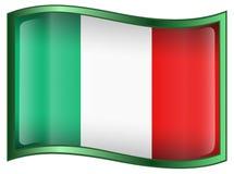 Italy Flag icon royalty free stock photos
