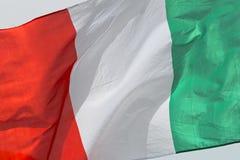 Italy Flag Stock Photography