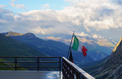 Italy flag Royalty Free Stock Photos