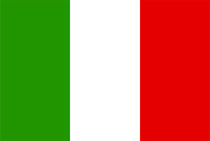 Italy flag Stock Photos