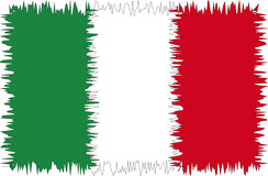 Italy flag stylized Royalty Free Stock Images