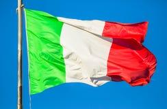 The Italy flag Royalty Free Stock Photos