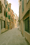Italy Florença A paisagem urbana Rua estreita Fotos de Stock Royalty Free