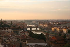Italy, Florence, Arno river. Italy. Toscana. Florence, Arno river Royalty Free Stock Image