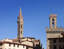 Italy. Florence. Badia Fiorentina- an abbey and church Stock Images