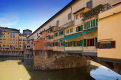 Italy. Florence. Bridge Ponte Vecchio Stock Photo