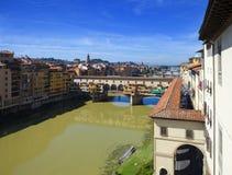 Italy. Florence. Bridge Ponte Vecchio Stock Photo