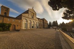 Italy,Florence, the church of San Miniato al Monte. Royalty Free Stock Image