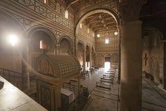 Italy,Florence, the church of San Miniato al Monte. Stock Photography