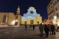 Italy,Florence, the church of Santo Spirito Stock Photos