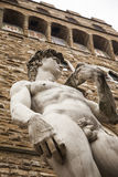 Italy,Florence, David copy in Signoria Square. Royalty Free Stock Photo