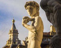 Italy,Florence, David of Michelangelo. Stock Images
