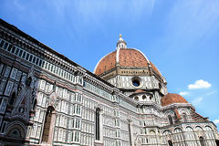italy Florence domkyrka del fiore maria santa Royaltyfri Foto