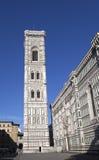 italy Florence domkyrka del fiore maria santa Royaltyfria Bilder