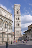 Italy. Florence. Duomo Campanile (bell tower) Royalty Free Stock Photography
