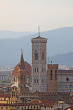 Italy. Florence. Duomo and Campanile (bell tower) Royalty Free Stock Image