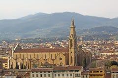 Italy. Florence. Equestrian statue of Cosimo I de 'Medici, Grand Duke of Tuscany Stock Images
