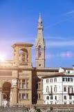italy Florence Forntida byggnad för Italy Royaltyfri Bild