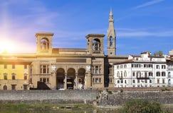italy Florence Forntida byggnad för Italy Royaltyfria Foton