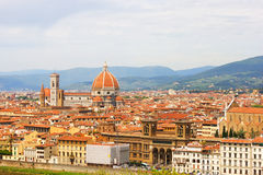 Italy Florence. General views of the city Stock Photos